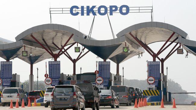 Di Posko Mudik Cikopo, petugas akan mengatur rekayasa lalu lintas saat terjadi kepadatan di Cikampek dan sekitarnya,.