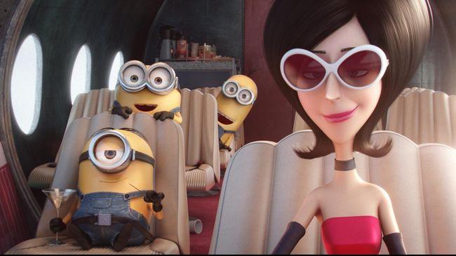 Film yang ditunggu anak-anak, Minions sudah bisa disaksikan di bioskop. Makhluk kuning dari Despicable Me itu kini bertingkah konyol mencari master.