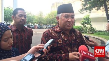 GAR-ITB membantah melaporkan Din Syamsuddin soal tudingan radikal, melainkan terkait pelanggaran kode etik ASN.
