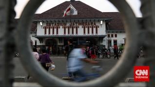Cagar Budaya Depo Lokomotif Jatinegara Dibongkar