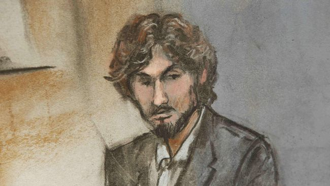 Dzhokhar Tsarnaev meminta maaf atas pengeboman di ajang Boston Marathon yang menewaskan tiga orang dan melukai 264 lainnya.