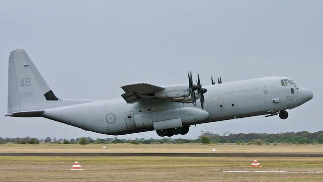 Pesawat TNI Bertolak dari China Bawa 9 Ton Alat Medis Corona