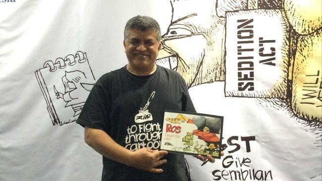 Kartunis Zunar akan menyuarakan penentangannya dari London atas gugatan penghasutan terkait karyanya yang dinilai menghina pemerintah Malaysia.