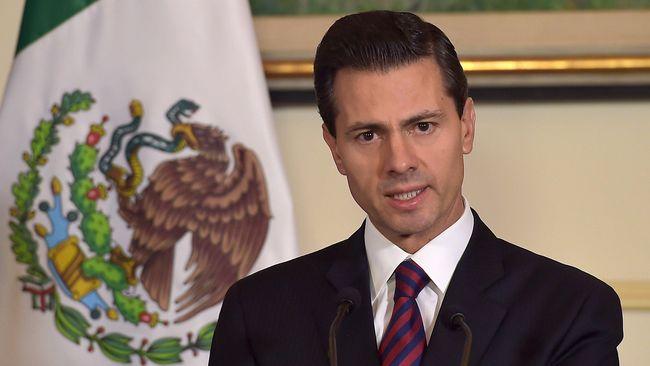 Presiden Meksiko Enrique Pena Nieto menunda rencana kunjungannya ke Amerika untuk bertemu dengan Donald Trump.