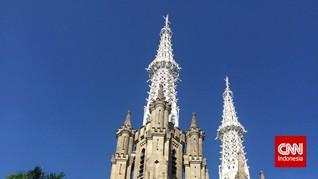 Dari Katedral ke Istiqlal, Hangatnya Toleransi saat Idulfitri