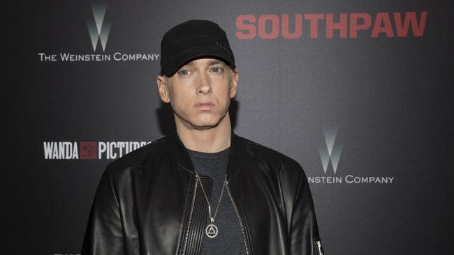 Master rekaman asli Eminem tersebut yang turut jadi 'korban' dalam kebakaran Universal Studios pada 2008 lalu.
