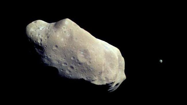 September, Asteroid 5 Kali Lebih Besar dari Monas Lewati Bumi