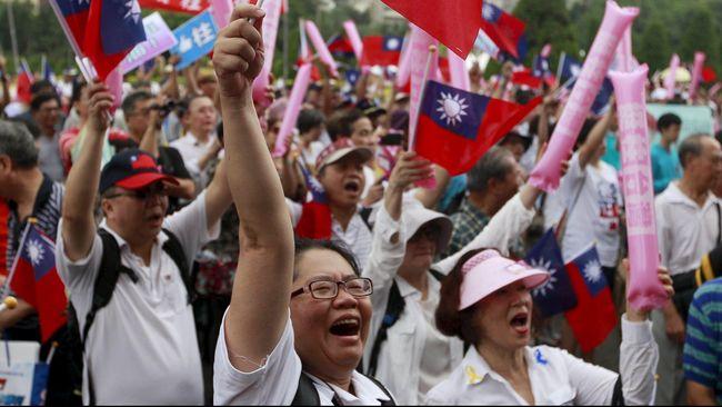 Para pejuang kemerdekaan Taiwan akan melakukan unjuk rasa untuk menuntut kemerdekaan kepada China.