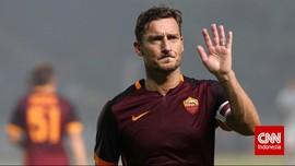 Totti Ungkap Alasan Tolak Tawaran Real Madrid