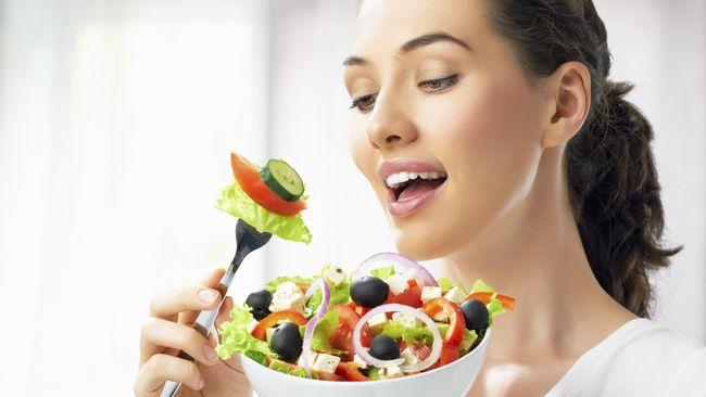 Gaya Hidup Vegetarian Bisa Picu Siklus Menstruasi Tak Teratur