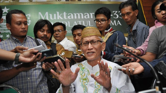 Miftachul Akhyar Resmi Ketum MUI, Ma'ruf Amin Ketua Wantim