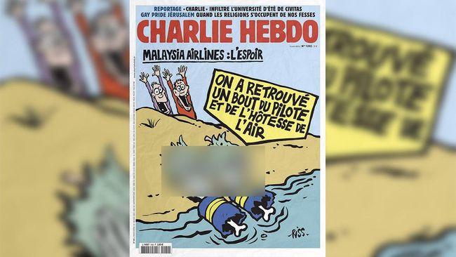 Majalah satir Prancis Charlie Hebdo menerbitkan ulang kartun Nabi Muhammad untuk menandai dimulainya persidangan penyerangan kantor mereka pada 2015.