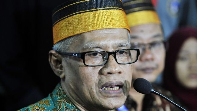 Ketum PP Muhammadiyah meminta semua pihak menerima keputusan KPU dan jika tak puas agar melanjutkan perjuangan lewat mekanisme hukum, bukan yang lain.