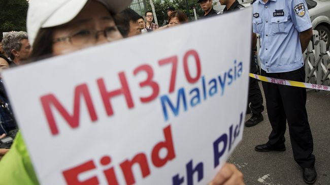Setop Pencarian MH370, Mahathir Dituding Melanggar Janji