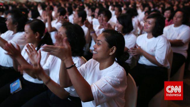 Pelatihan peningkatan kapasitas TKI yang bekerja di luar negeri ini ditujukan agar TKI memiliki bekal ketika pulang ke Indonesia.