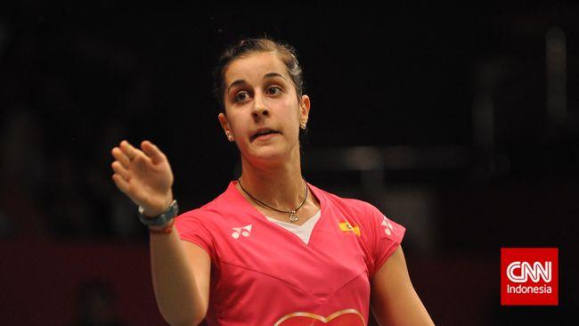 Pebulutangkis tunggal putri Spanyol, Carolina Marin dipastikan absen di Olimpiade Tokyo 2020 karena cedera anterior cruciate ligament (ACL).