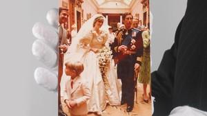 'Pesan Rahasia' di Sepatu Pernikahan Diana-Charles