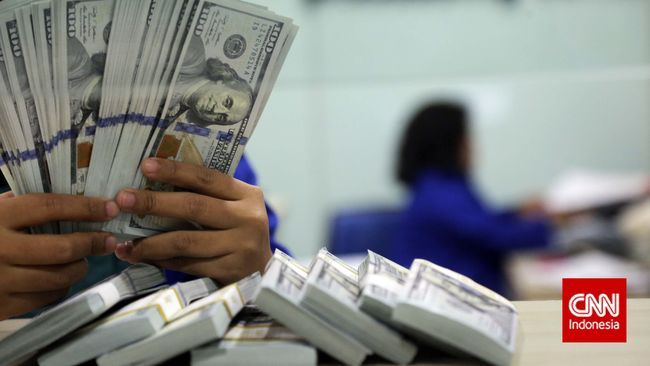 Rupiah menguat 0,1 persen ke posisi Rp14.550 per dolar AS pada Senin (19/4) karena pelemahan yield obligasi AS.