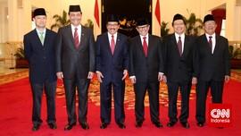 Potret Para Menteri Baru Kabinet Jokowi