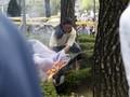 Demo Anti Jepang, Pria Korsel Bakar Diri