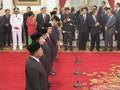 Lima Pembantu Baru Jokowi Resmi Dilantik