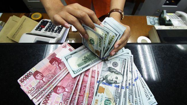 Namun, apabila dibandingkan dengan dua mata uang asing lainnya, euro dan dolar Australia, rupiah tercatat kurang darah.