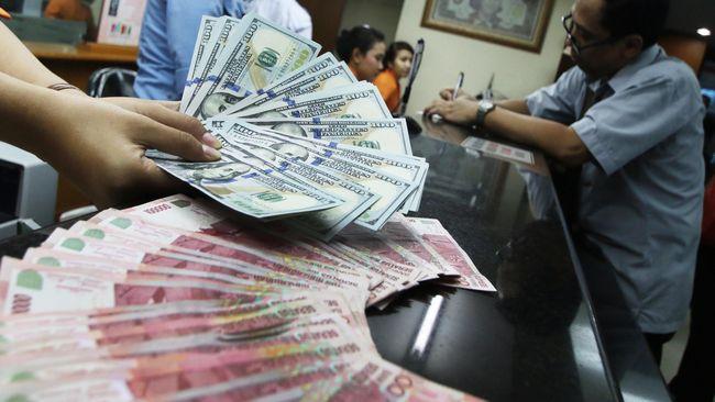 Nilai tukar rupiah menguat ke posisi Rp15.176 per dolar AS pada perdagangan pasar spot sore ini, Selasa (16/10).