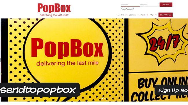 Locker otomatis yang dibuat PopBox ditargetkan untuk melayani kebutuhan para penyedia jasa perdagangan online dan konsumennya.