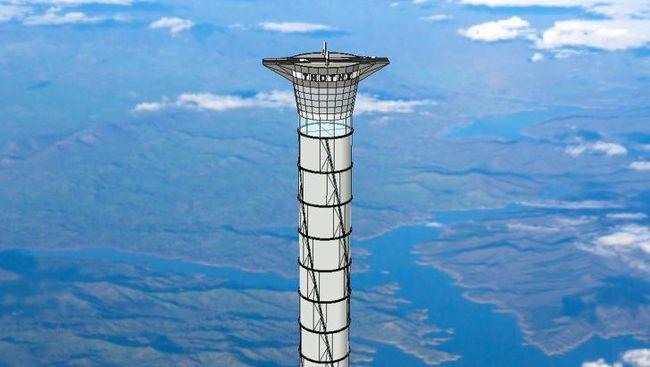 Jepang berencana untuk merealisasikan pembuatan lift untuk mengantar muatan ke luar angkasa.