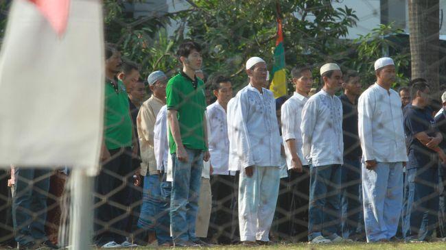 Dirjen Pemasyarakatan Reynhard mengatakan remisi khusus ke lebih 121 ribu narapidana Muslim bisa menghemat anggaran makan hingga Rp62.313.840.000.