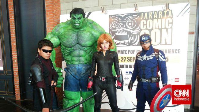 Konvensi hiburan akbar multi-genre dan komik tahunan asli Hollywood, Comic Con akan segera hadir di Jakarta untuk pertama kalinya.