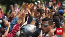Polri Tepis Tolak Laporan Kerumunan Jokowi: Nihil Pelanggaran