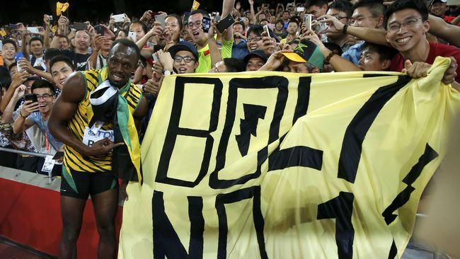 Meski sudah pensiun sejak 2017, 'Manusia Tercepat di Dunia' Usain Bolt tetap menjadi salah satu atlet dengan jumlah kekayaan terbanyak.