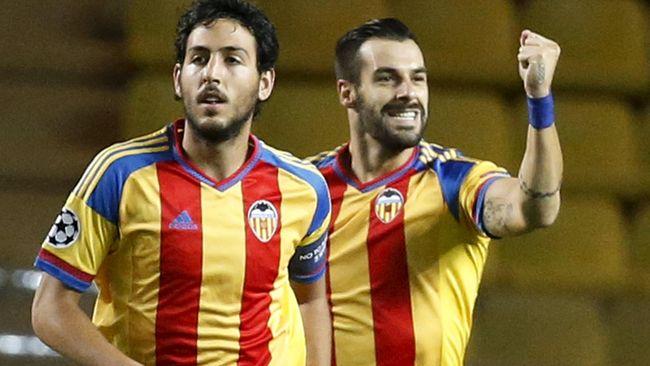 Gol keunggulan Valencia dicetak Alvaro Negredo pada menit ke-39.