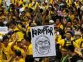 Ribuan Pemrotes Berkumpul, Tuntut Najib Razak Mundur