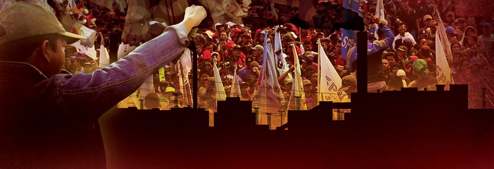 Buruh Kembali Kepung Jakarta