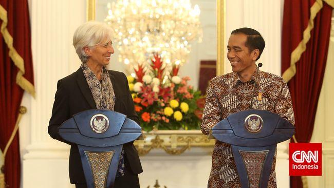Setelah menyisakan 'kepahitan' dalam hubungan Indonesia dengan IMF pada krisis 1998 lalu, kini keduanya tampak 'manis' bergandengan tangan.