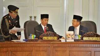 Jubir JK: Bapak Sempat Ngobrol Santai Saat Dijenguk Jokowi