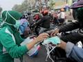 2 WNI Positif Corona, Ojek Online Diminta Sediakan Masker