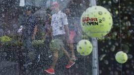 Ketika Pertandingan AS Terbuka Terganggu Hujan