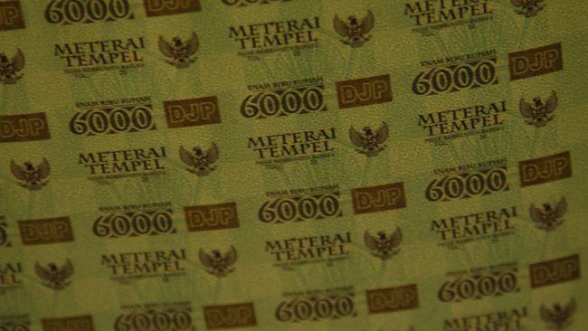 Kenaikan tarif bea meterai dari Rp3 ribu dan Rp6 ribu menjadi Rp10 ribu berpotensi mengerek pendapat negara sekitar Rp4,4 triliun.