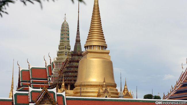 Pertumbuhan ekonomi Thailand minus 2,6 persen pada kuartal I 2021 secara tahunan karena pandemi covid-19.