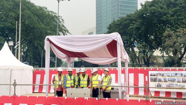 Untuk menggarap proyek MRT, PT MRT Jakarta akan menggunakan empat mesin bor raksasa bernama Antareja.