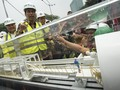 Jokowi Tinjau Pengeboran Terowongan MRT