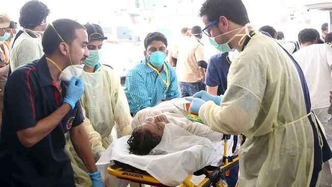 Berdasarkan twit yang dikirimkan oleh Direktorat Pertahanan Sipil Arab Saudi, jumlah korban tewas dan terluka dalam tragedi di Mina bertambah.