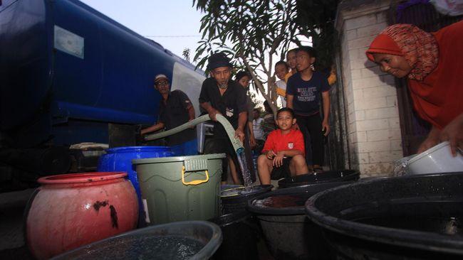 Pelanggan Palyja di Kembangan, Jakarta Barat mengeluh karena pasokan air di wilayah mereka terganggu dalam dua hari ini.