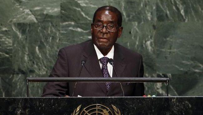 Mugabe, 93 tahun, merupakan diktator tertua dan satu-satunya pemimpin Zimbabwe yang memerintah sejak negara itu merdeka dari jajahan Inggris pada 1980.