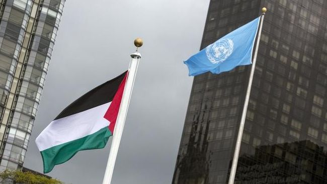 Palestina menyatakan akan tetap maju untuk menjadi anggota penuh PBB, meski dibayangi oleh veto Amerika Serikat.