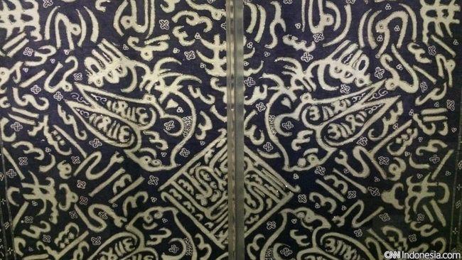 Untaian Gurindam di Batik Bengkulu Nyaris Padam