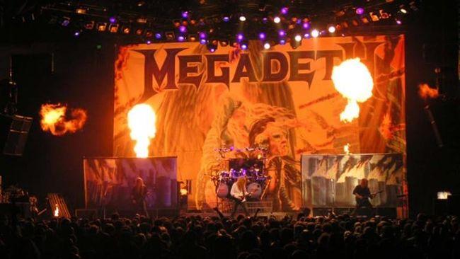 Megadeth Frustrasi Bangkitkan Roh Konsep Album Rust In Peace
